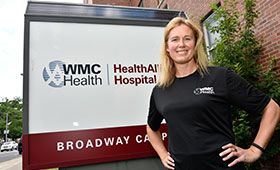 Amy Hess Running New York City Marathon In Support of Patients at HealthAlliance of the Hudson Valley