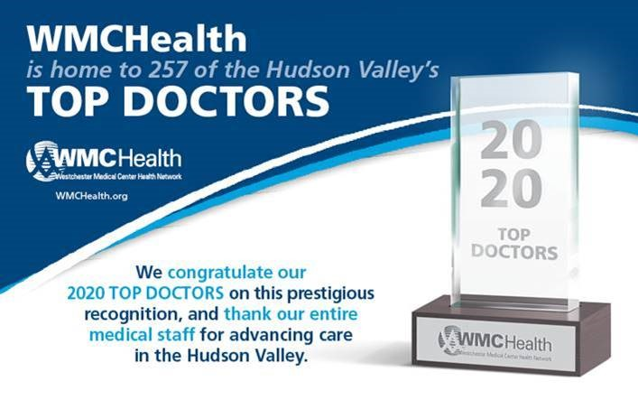 "More than 250 WMCHealth Physicians Named ""Top Doctors"" by Peers"
