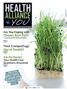 Health Alliance and You Spring 2013